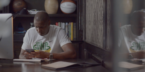 For the Toronto Raptors' General Manager, the BlackBerry Passport Keeps him on the Ball
